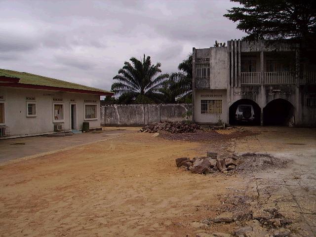 Foto van het oude gebouw